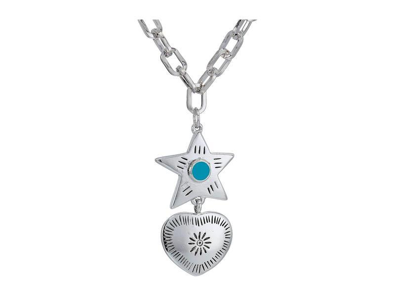 バネッサモーネイ レディース ネックレス・チョーカー・ペンダントトップ アクセサリー The Lonestar Necklace Silver Plated