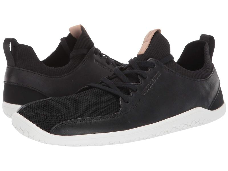 ヴィヴォ ベアフット レディース スニーカー シューズ Primus Knit Leather Black