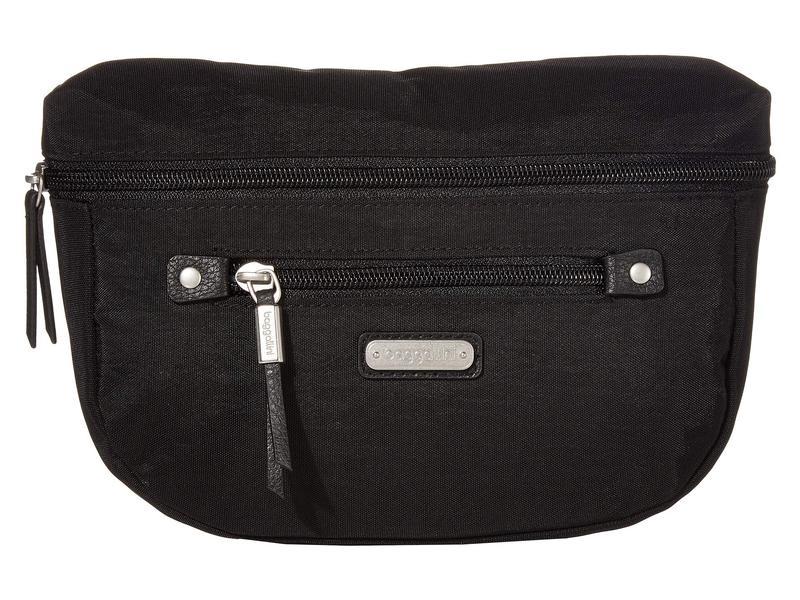 バッガリーニ レディース ボディバッグ・ウエストポーチ バッグ Sightseer Waist Pack Bag Black