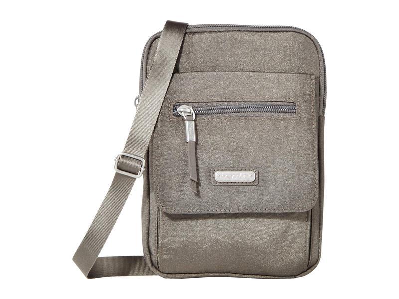 バッガリーニ レディース ハンドバッグ バッグ Far and Wide RFID Crossbody Bag Sterling Shimmer