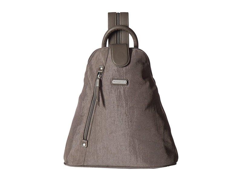 バッガリーニ レディース バックパック・リュックサック バッグ Metro Backpack with RFID Phone Wristlet Sterling Shimmer
