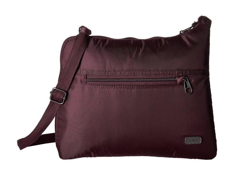 パックセーフ レディース ハンドバッグ バッグ Daysafe Anti-Theft Slim Crossbody Bag Blackberry
