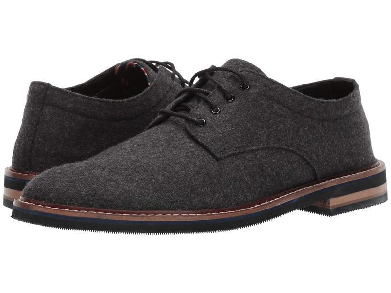ボストニアン メンズ オックスフォード シューズ Dezmin Plain Black Wool