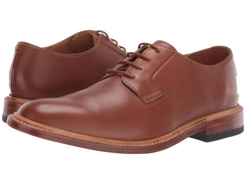 ボストニアン メンズ オックスフォード シューズ No16 Soft Lace Tan Leather