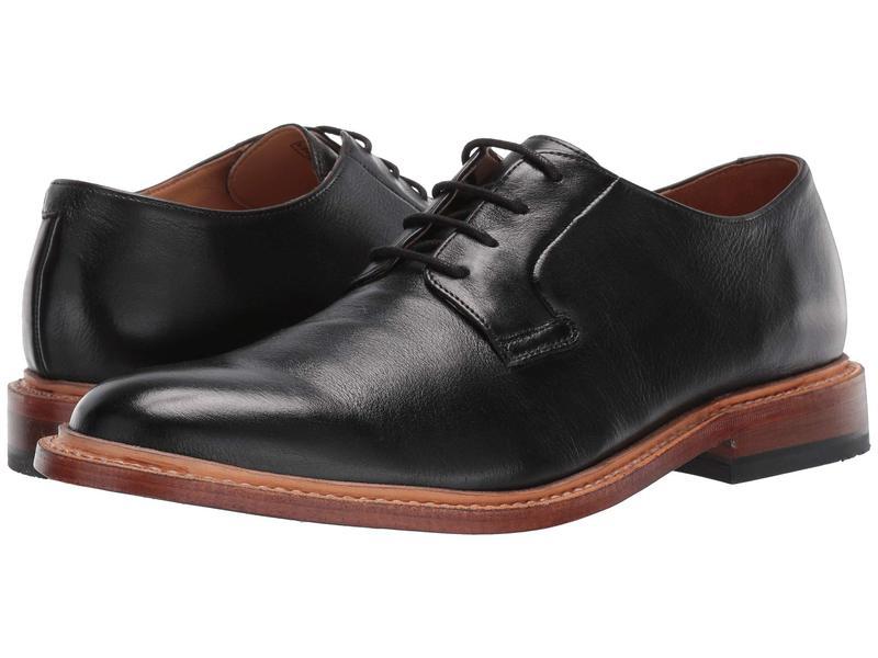 ボストニアン メンズ オックスフォード シューズ No16 Soft Lace Black Leather