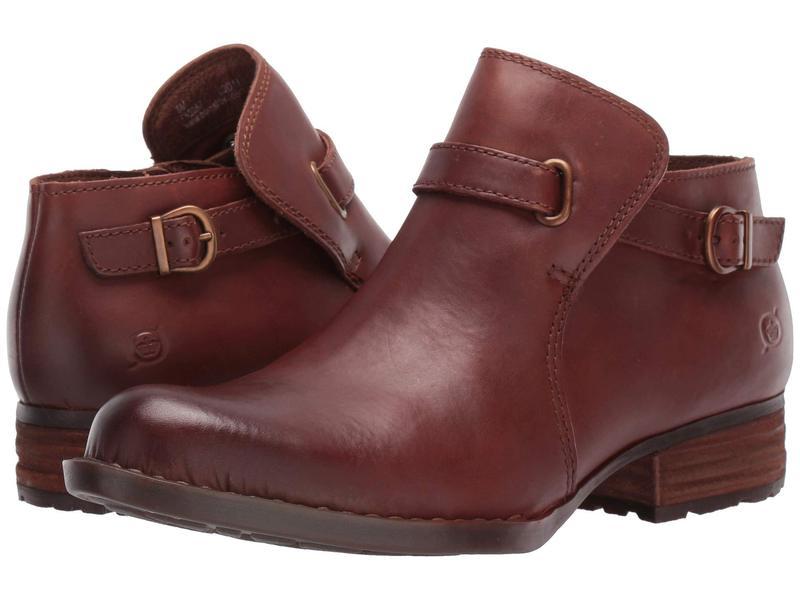 ボーン レディース ブーツ・レインブーツ シューズ Kristina Brown Full Grain Leather
