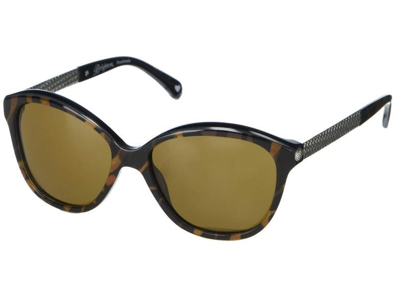 ブライトン メンズ サングラス・アイウェア アクセサリー Ferrara Novella Sunglasses Tortoise