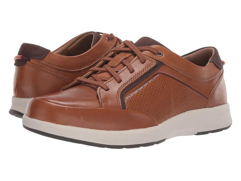 クラークス メンズ スニーカー シューズ Un Trail Form Tan Leather