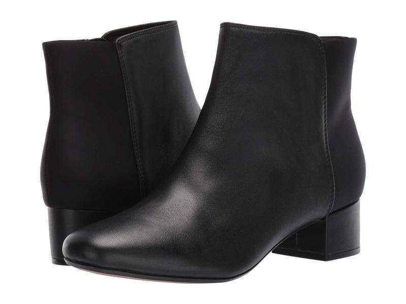 クラークス レディース ブーツ・レインブーツ シューズ Chartli Valley Black Combo Leather