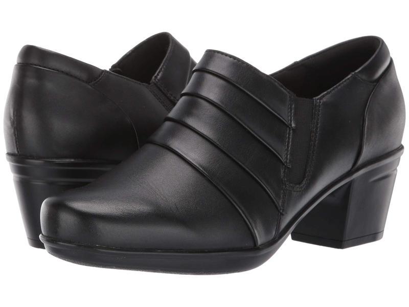 クラークス レディース ブーツ・レインブーツ シューズ Emslie Guide Black Leather