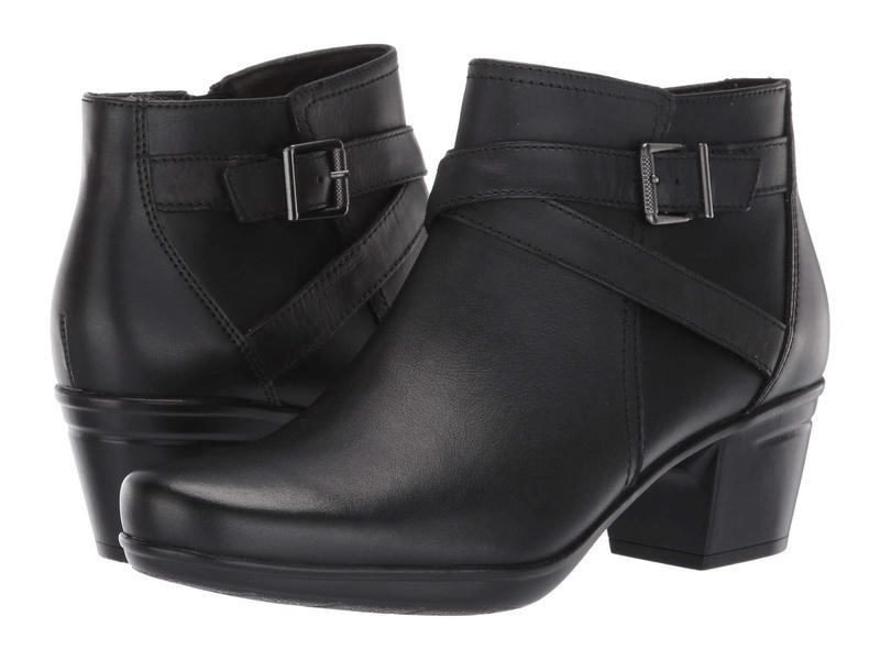 クラークス レディース ブーツ・レインブーツ シューズ Emslie Cyndi Black Leather