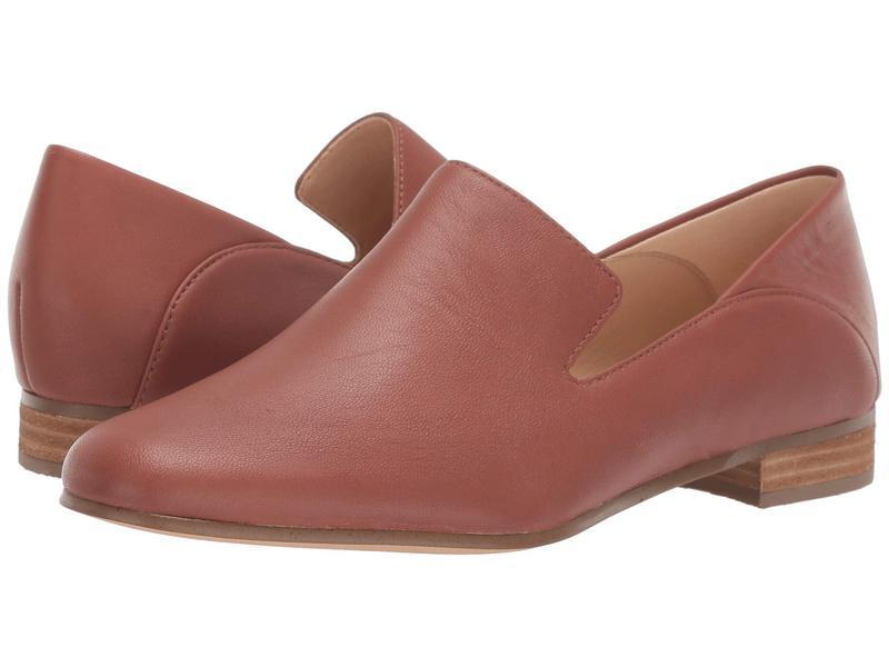 クラークス レディース スリッポン・ローファー シューズ Pure Viola Tan Leather