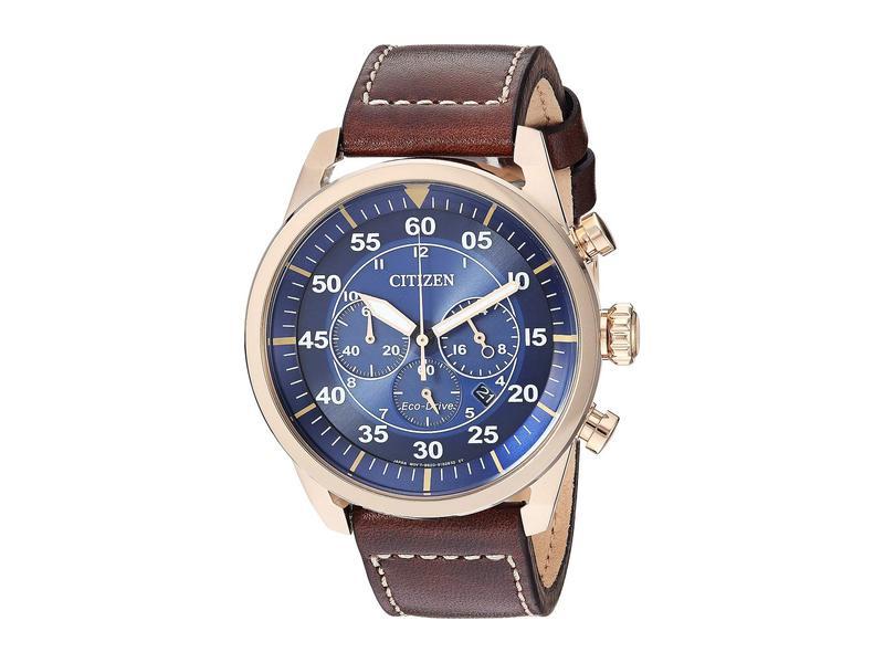 シチズンウォッチ メンズ 腕時計 アクセサリー Avion CA4213-18L Brown
