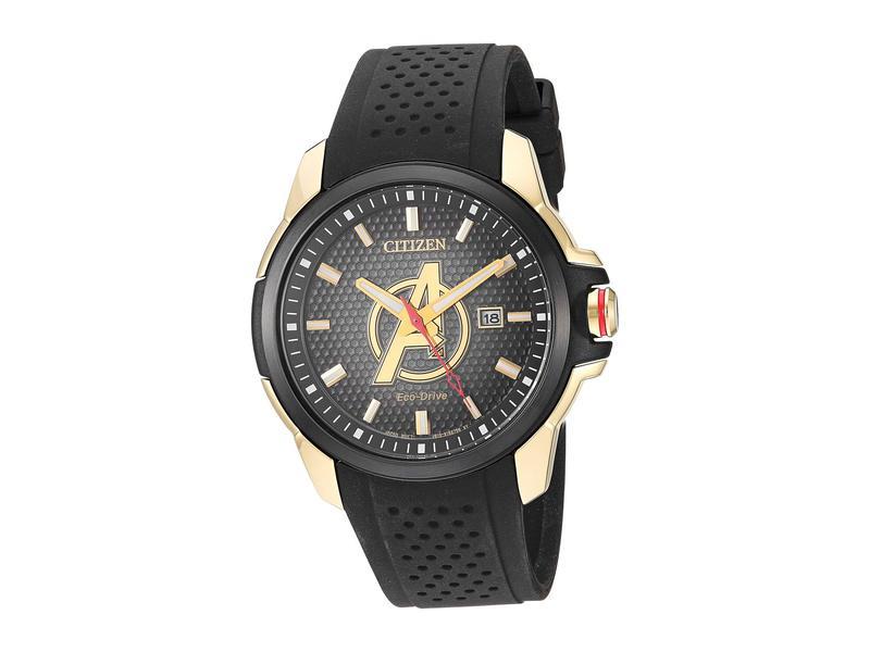 シチズンウォッチ メンズ 腕時計 アクセサリー Avengers AW1155-03W Black