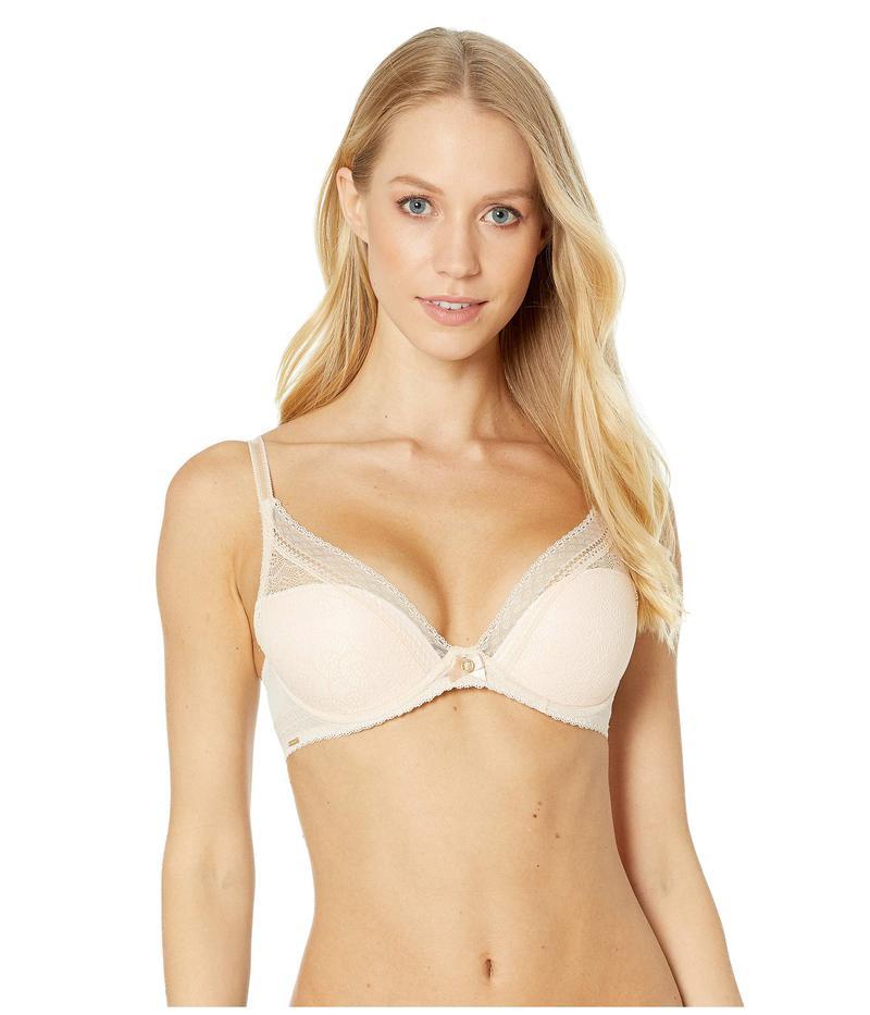 シャントル レディース ブラジャー アンダーウェア Festivite Lace Plunge Bra Nude Blush