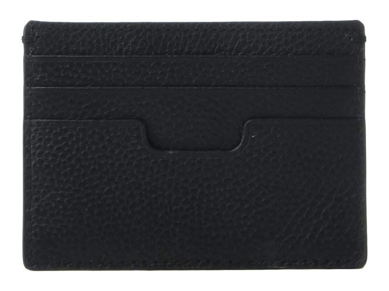 コールハーン メンズ 財布 アクセサリー Pebble Leather Card Case Black