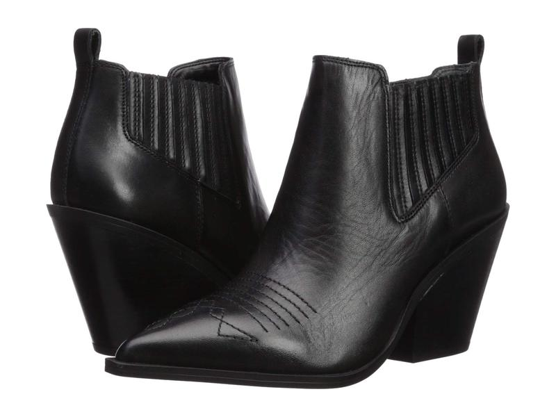フランコサルト レディース ブーツ・レインブーツ シューズ Cavallarie Black Leather