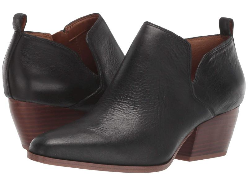 フランコサルト レディース ブーツ・レインブーツ シューズ Dingo 2 Black Leather