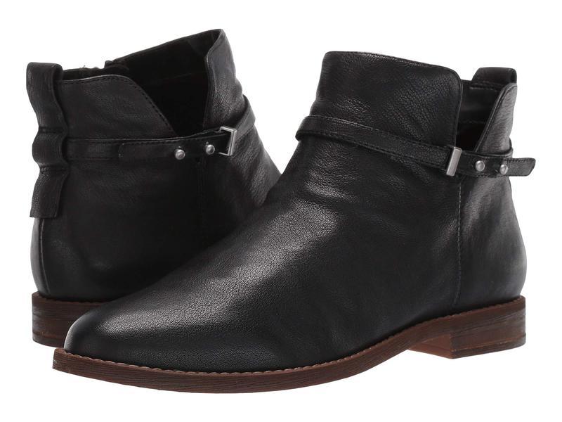 フランコサルト レディース ブーツ・レインブーツ シューズ Optimal Black Leather