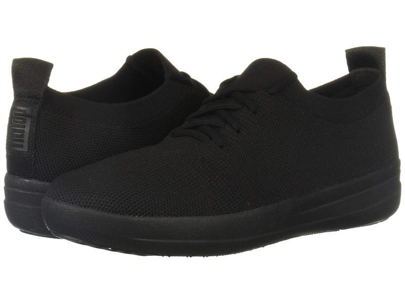 フィットフロップ レディース スニーカー シューズ F-Sporty Uberknit Sneakers All Black 2