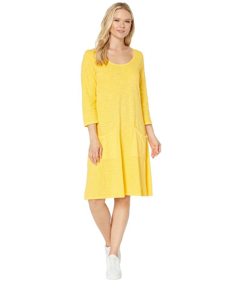 フレッシュプロデュース レディース ワンピース トップス Dalia Dress Mango Yellow
