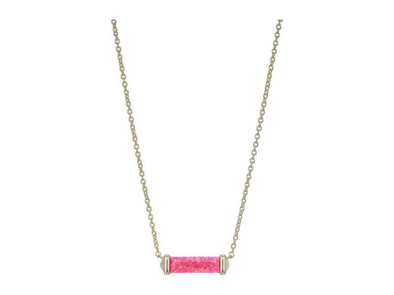 ケンドラスコット レディース ネックレス・チョーカー・ペンダントトップ アクセサリー Rufus Necklace Gold/Hot Pink Opal