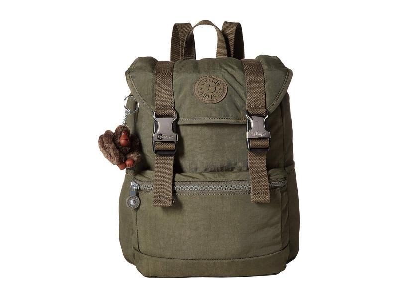 キプリング レディース バックパック・リュックサック バッグ Experience Small Backpack Jaded Green