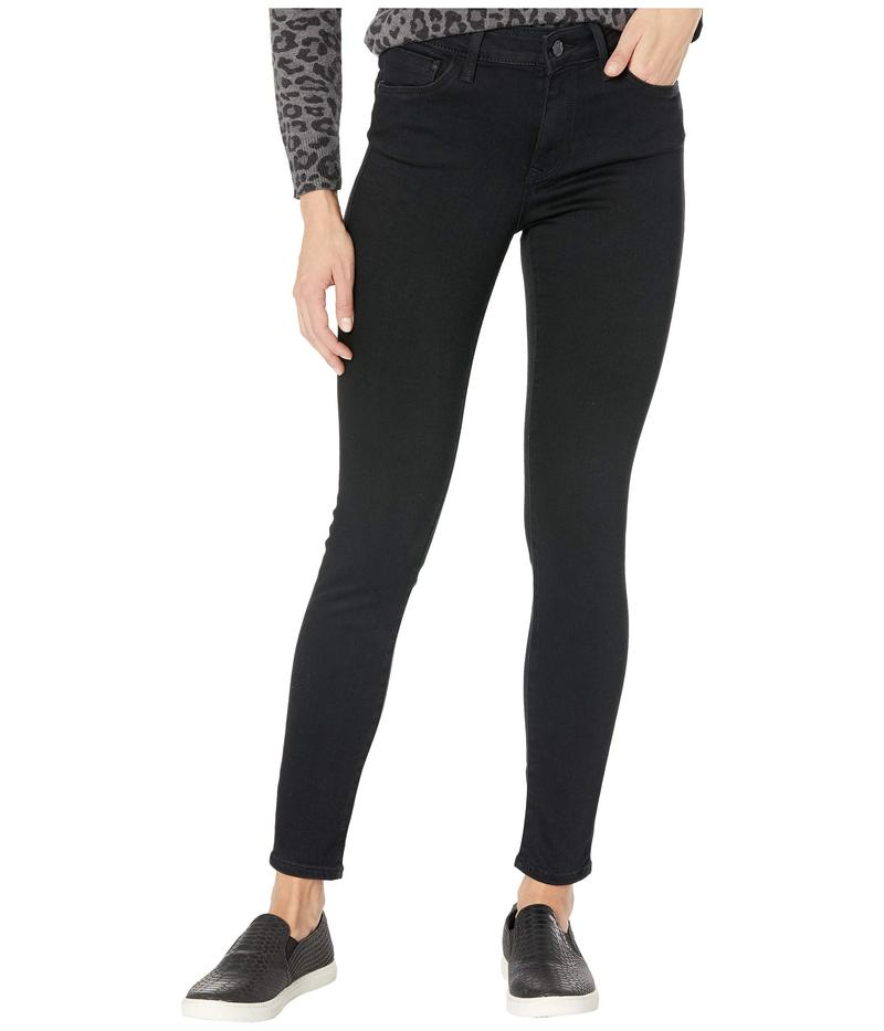 マーヴィ ジーンズ レディース デニムパンツ ボトムス Alissa High-Rise Super Skinny Ankle in Black Brushed Supersoft Black Brushed Supersoft