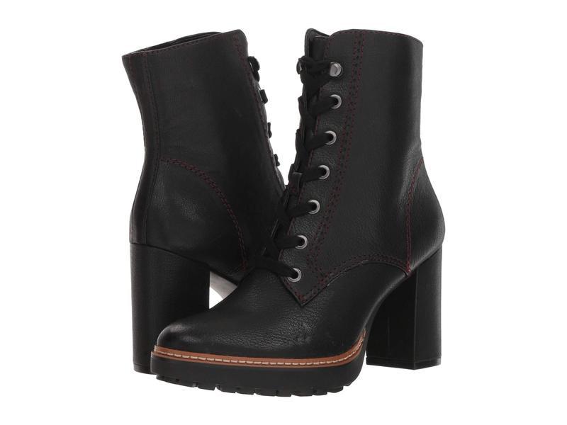ナチュライザー レディース ブーツ・レインブーツ シューズ Callie Black Tumbled Leather