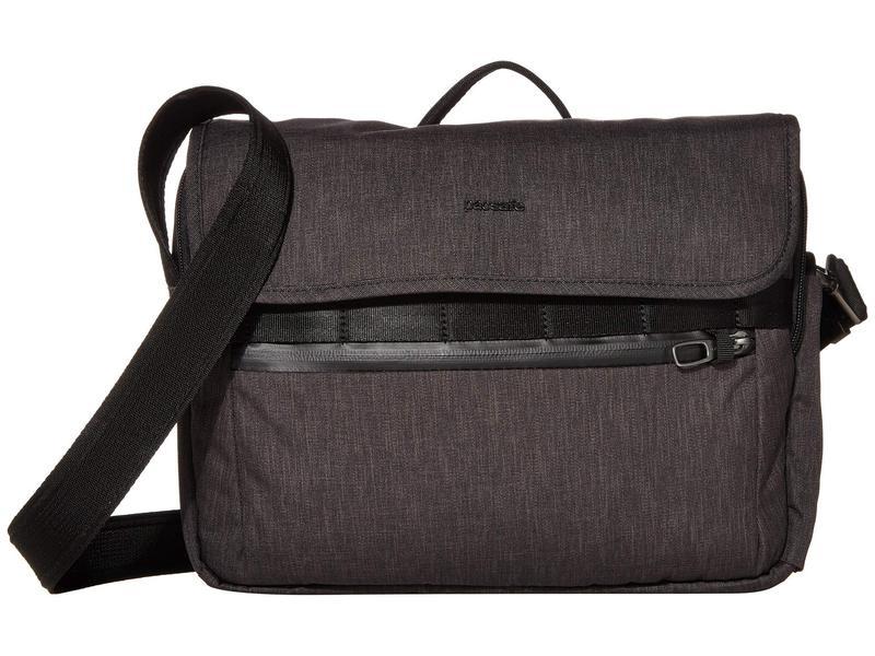 パックセーフ メンズ ショルダーバッグ バッグ Metrosafe X Anti-Theft Messenger Bag Carbon