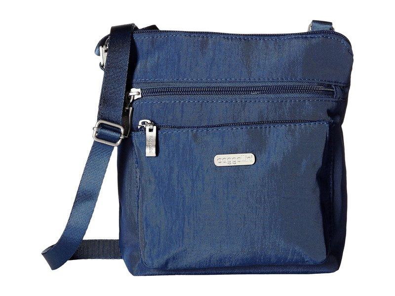 バッガリーニ レディース ハンドバッグ バッグ Pocket Crossbody Bag with RFID Wristlet Pacific