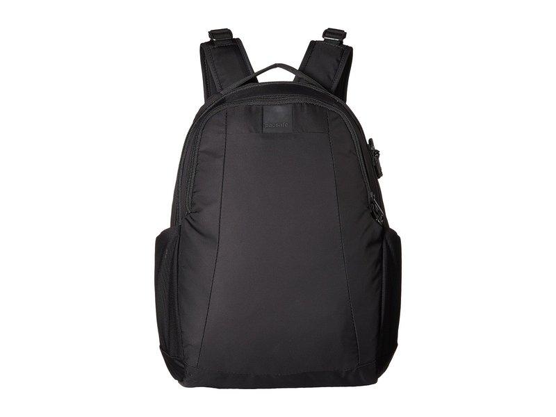 パックセーフ メンズ バックパック・リュックサック バッグ Metrosafe LS350 Anti-Theft 15L Backpack Black