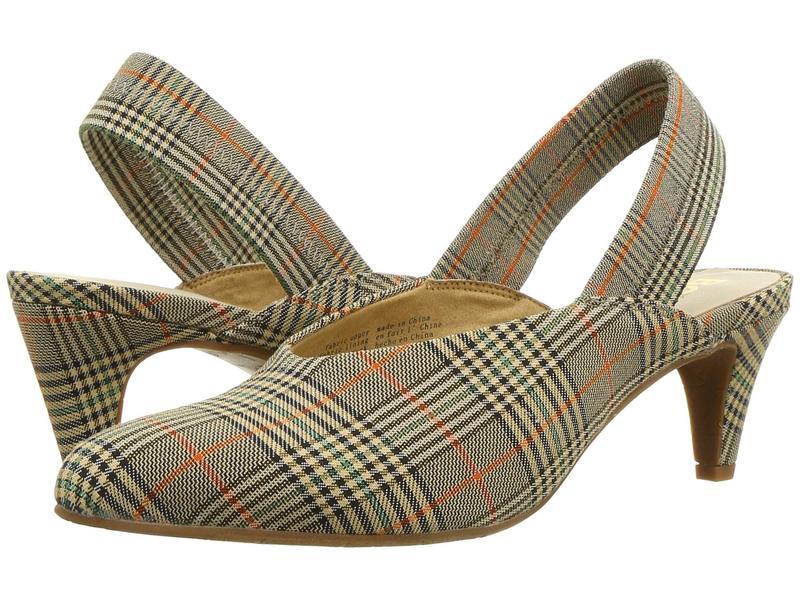 セイシェルズ レディース ヒール シューズ BC Footwear By Seychelles - Liter Natural Multi Plaid