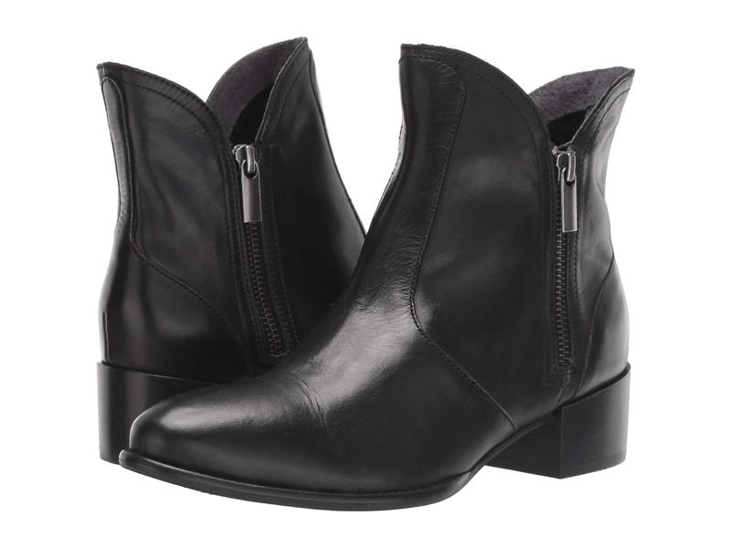セイシェルズ レディース ブーツ・レインブーツ シューズ Lucky Pennies Black Leather