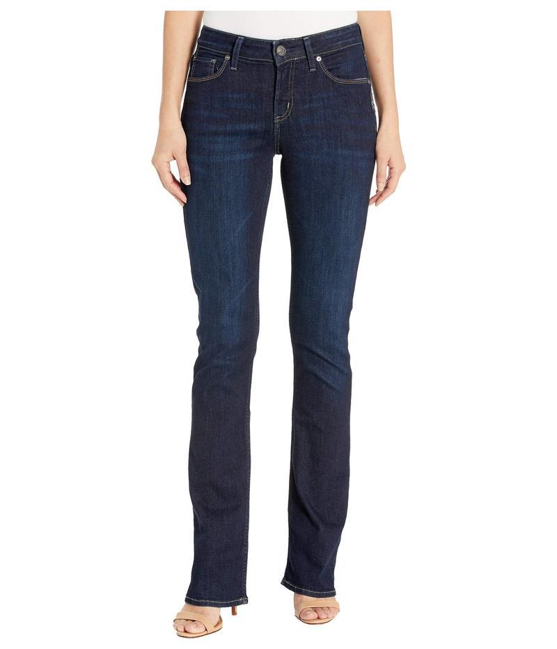 シルバー ジーンズ レディース デニムパンツ ボトムス Avery High-Rise Curvy Fit Slim Bootcut Jeans in Indigo Indigo