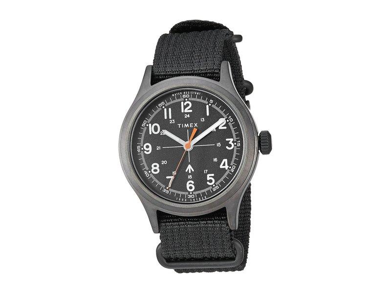 タイメックス メンズ 腕時計 アクセサリー Todd Snyder Military 40mm Olive/Black