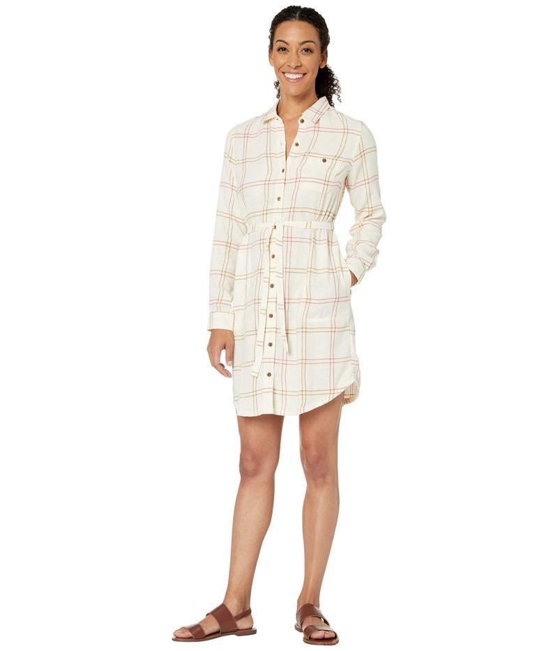 ドード アンドコー レディース ワンピース トップス Re-Form Flannel Shirtdress Egret