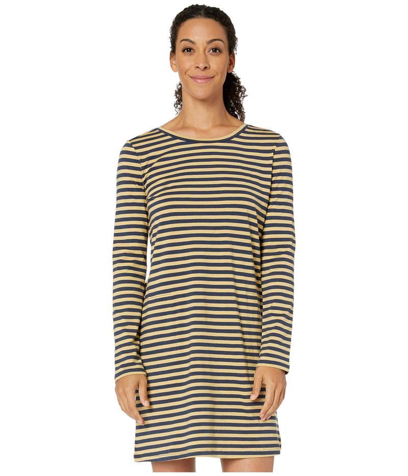ドード アンドコー レディース ワンピース トップス Windmere II Long Sleeve Dress Sand Beach Stripe