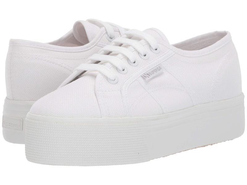 スペルガ レディース スニーカー シューズ 2790 Acotw Platform Sneaker Total White