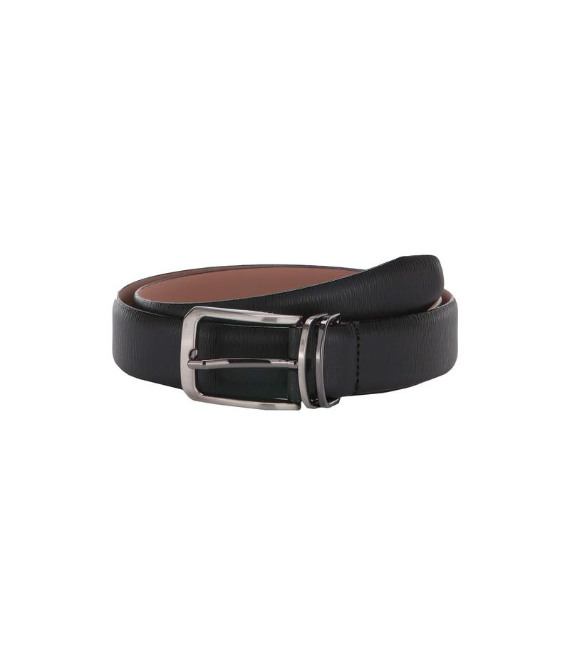 テッドベーカー メンズ ベルト アクセサリー Olivio Reversible Leather Belt Black