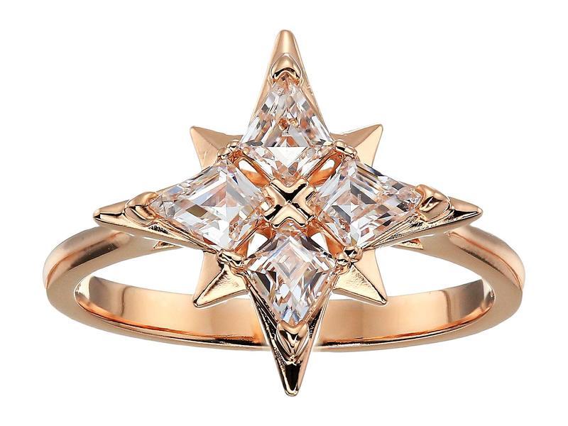 スワロフスキー レディース リング アクセサリー Symbolic Star Ring CZ White