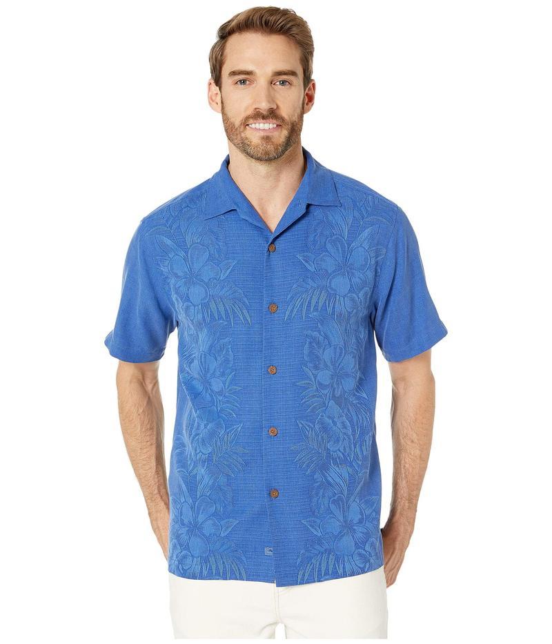 トッミーバハマ メンズ シャツ トップス Kamari Border Shirt Mazarine Blue