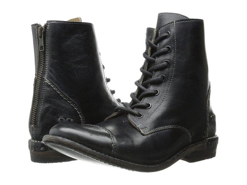 ベッドステュ レディース ブーツ・レインブーツ シューズ Laurel Black Rustic Leather