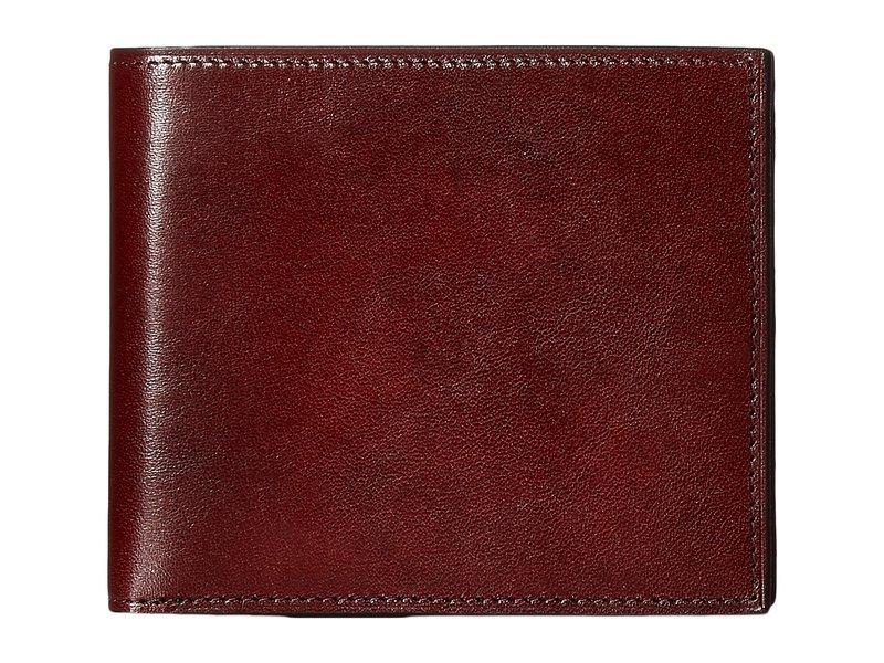 ボスカ メンズ 財布 アクセサリー Old Leather Collection - Credit Wallet w/ I.D. Passcase Dark Brown