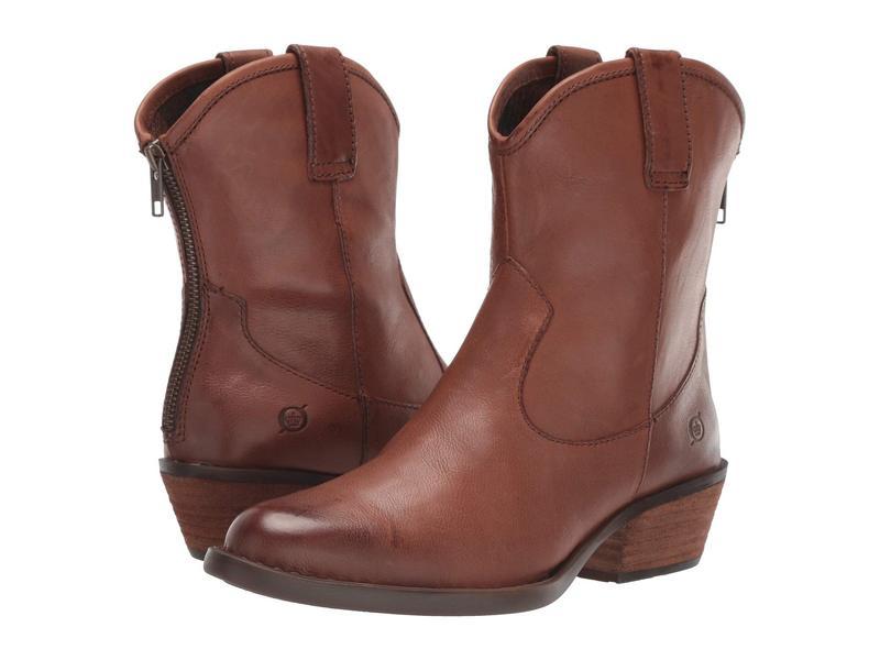ボーン レディース ブーツ・レインブーツ シューズ Wynd Brown Full Grain Leather