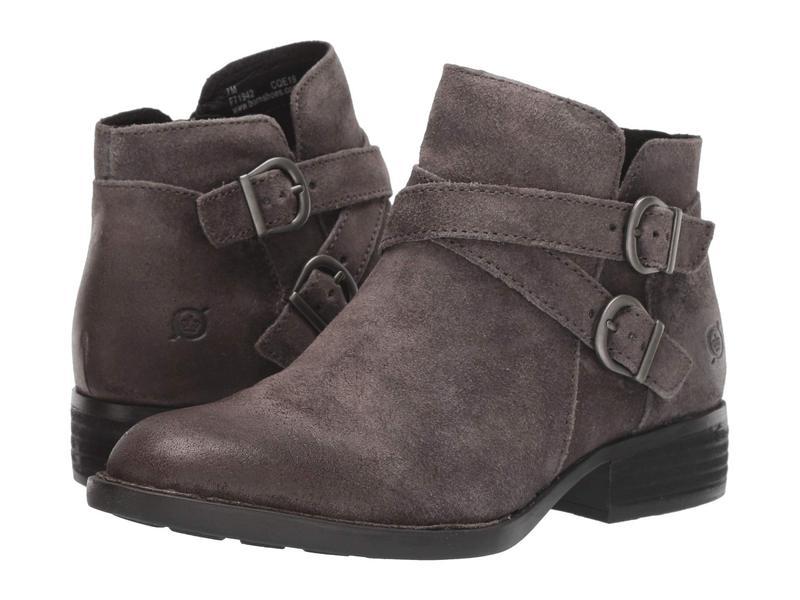 ボーン レディース ブーツ・レインブーツ シューズ Ozark Black Full Grain Leather