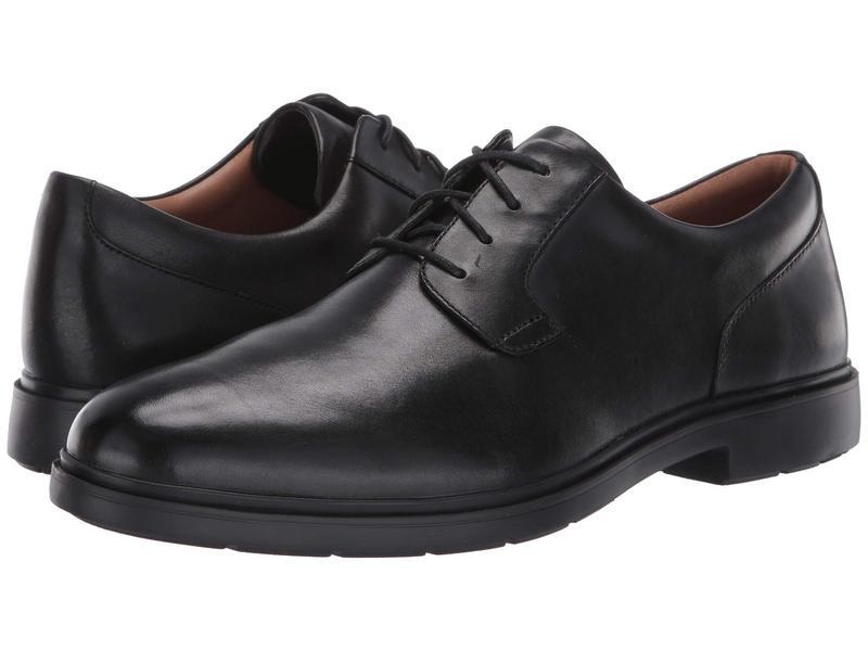 クラークス メンズ オックスフォード シューズ Un Tailor Tie Black Leather