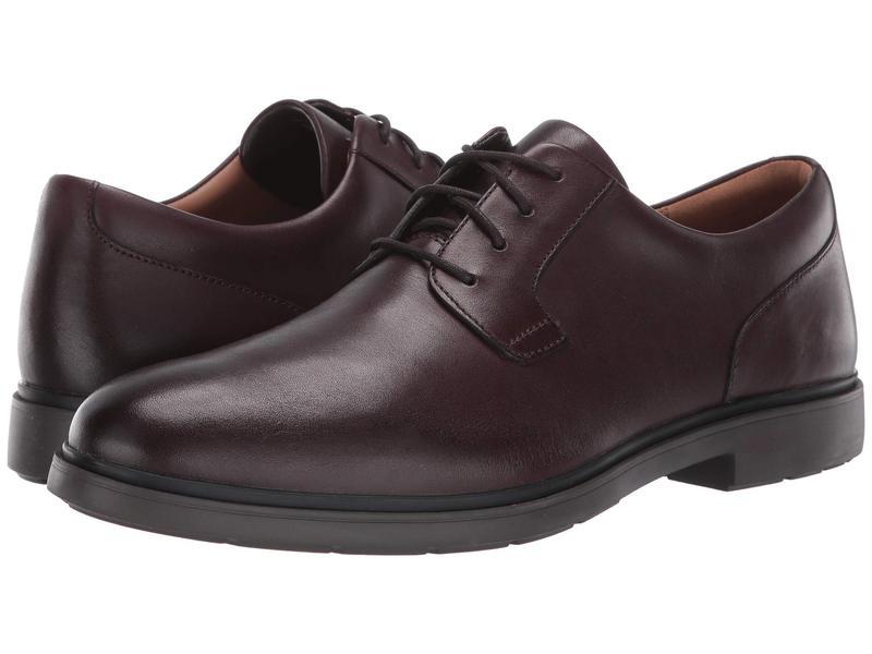 クラークス メンズ オックスフォード シューズ Un Tailor Tie Oxblood Leather