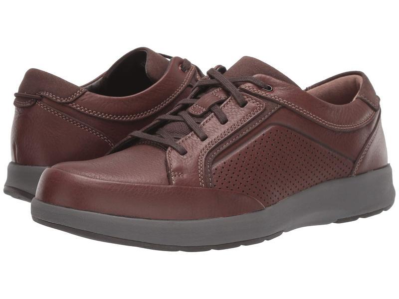 クラークス メンズ スニーカー シューズ Un Trail Form Mahogany Leather