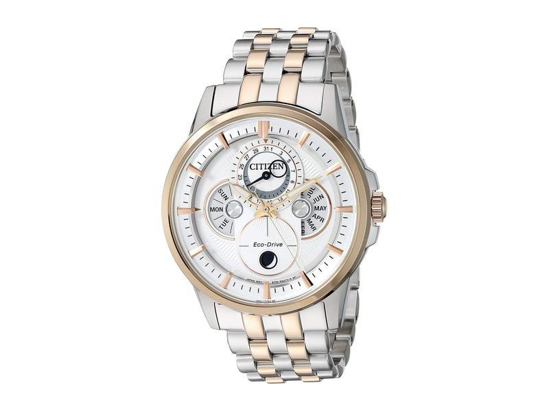シチズンウォッチ メンズ 腕時計 アクセサリー BU0056-57A Calendrier Two-Tone